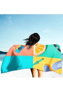 Toalha De Praia / Banho Summer Hipster Set