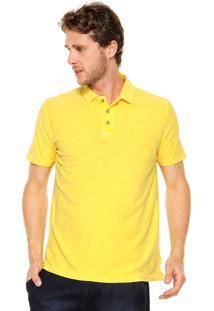 Camisa Polo Reserva Flame Amarela