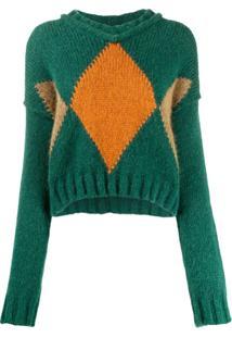 Brag-Wette Suéter De Tricô - Verde