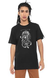 Camiseta Mcd Snake Walrus Preta