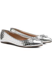 Sapatilha Shoestock Matelassê Bico Fino
