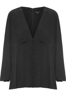 Camisa Feminina Lucy - Preto