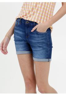 Bermuda Feminina Jeans Strecht Marisa