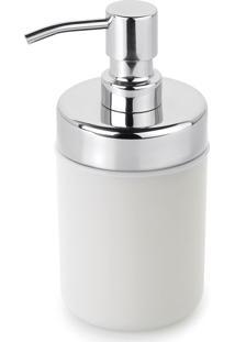 Kit 6 Dispenser Sabonete Líquido Acquaset Branco Forma