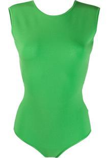 Mrz Body Sem Mangas - Verde