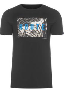 Camiseta Masculina Fine Route Classic - Preto