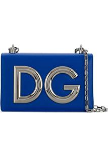 Dolce & Gabbana Bolsa Tiracolo Dg Girls - Azul