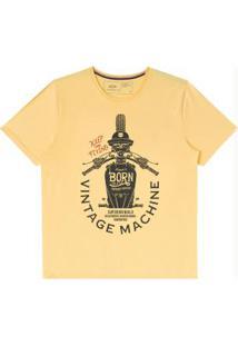 Camiseta Amarelo Hangar
