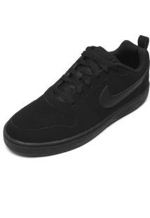 Tênis Nike Sportswear Court Borough Low Preto