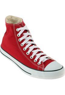 Tênis Cano Alto Converse All Star Ct As Hi - Masculino-Vermelho