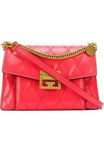 Givenchy Bolsa Transversal Gv3 Pequena - Rosa