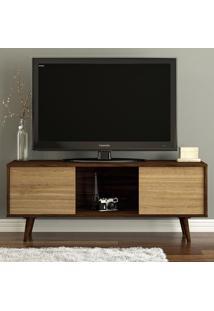 Rack Para Tv Modelo Osasco 2 Portas 170198 Imbuia/Argel Ff - Politorno