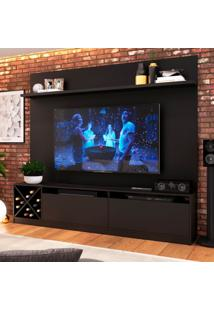Estante Home Para Tv Até 80 Polegadas Bianca Preto