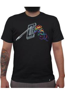 Mixtape - Dark Side Of The Tape - Camiseta Clássica Masculina