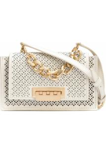 Zac Zac Posen Bolsa Transversal Earthette Mini - Branco