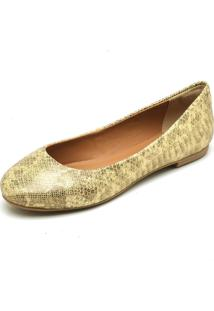 Sapatilha Oxford Leticia Alves 220 Ouro