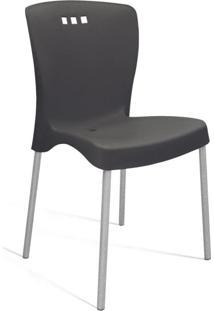 Cadeira De Jantar Mona Preta