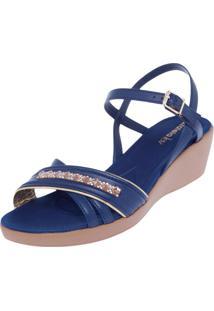 ad74b6cba Sandália Azaleia Azul feminina | Shoelover
