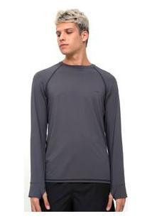 Camiseta Com Estampa E Proteção Uv