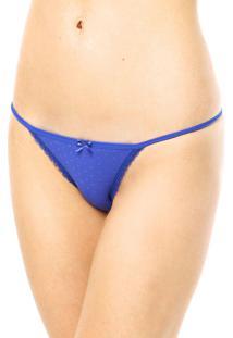 Calcinha Trifil String Azul