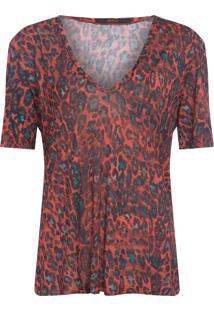 Blusa Feminina Onça Pintada - Animal Print