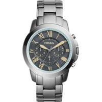 40988aa7063 Relógio Fossil - Fs5185 - Masculino-Cinza