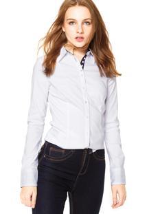 Camisa Facinelli Lisa Botões Branca