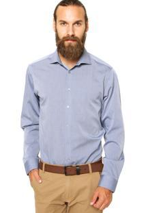 Camisa Calvin Klein White Label Listras Multicolorida