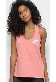 Camiseta Regata Nike Gym Vntg Tank Feminina - Feminino