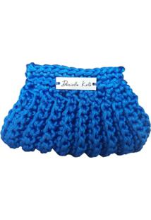 Porta Moeda Daniella Kolb Conchinha Azul - Azul - Feminino - Dafiti
