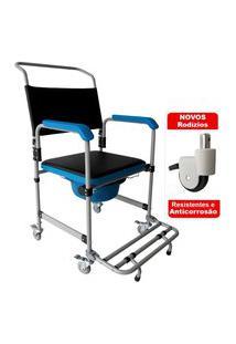Cadeira De Banho Em Aço Com Coletor D50 Dellamed