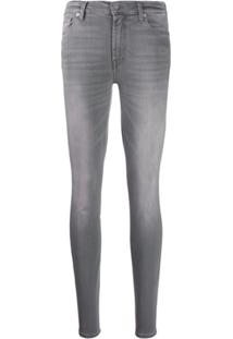 7 For All Mankind Calça Jeans Slim Illusion - Cinza