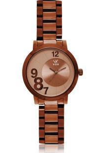 Relógio Vox New Jersey Bege