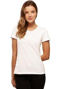 Camiseta Basicamente Babylook Básica Feminina - Feminino
