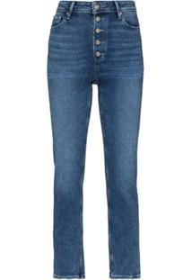 Paige Calça Jeans Skinny Cropped Cindy - Azul