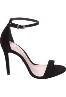 Sandália Single Nobuck Black | Schutz