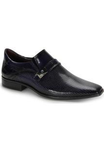 Sapato Social Masculino Gofer - Azul