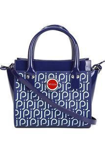 Bolsa Petite Jolie J-Lastic Feminina - Feminino-Azul Escuro