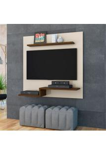 Painel Para Tv 50 Polegadas Luna 120 Cm Off White Savana