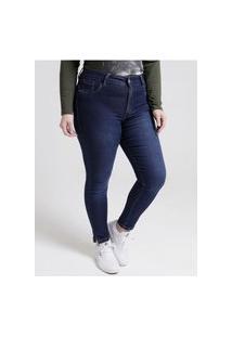 Calça Jeans Amuage Plus Size Feminina Azul
