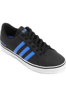 Tênis Adidas Vs Pace Masculino - Masculino-Preto+Azul