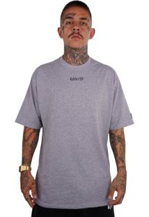 Camiseta Wanted Ind Az F*Ck Cinza