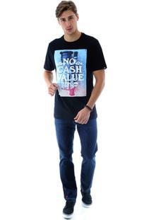 Camiseta Zero No Cash Masculina - Masculino