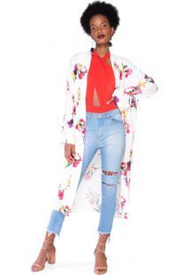 Kimono Estampado Viscose