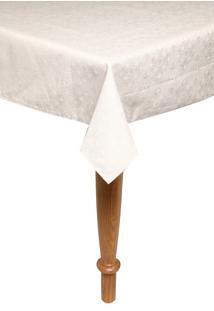 Toalha De Mesa Karsten Quadrada Faenza Branca