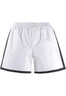 Dolce & Gabbana Underwear Short De Popeline - Branco