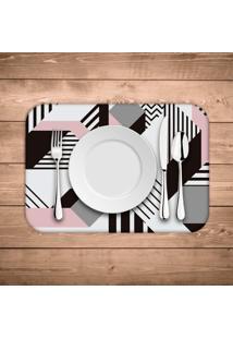 Jogo Americano Wevans Geometric Kit Com 6 Pã§S - Multicolorido - Dafiti