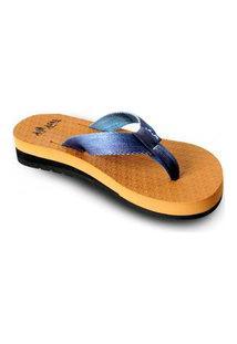 Sandália Fly Feet Anabela Caramelo Ortho Pauher