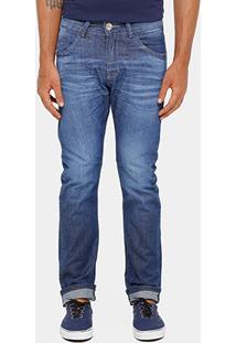 Calça Jeans Reta Razon Stone Escura Masculina - Masculino