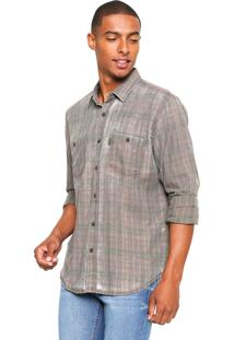 Camisa John John Reta Doug Verde